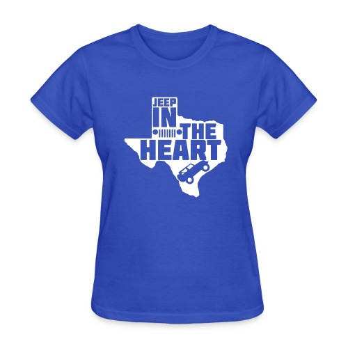Jeep in the heart of Texas - Women's T-Shirt