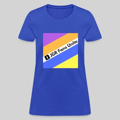 JGR Fans Unite Retro Logo - Women's T-Shirt