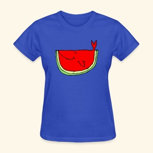 Whalemelon - Women's T-Shirt