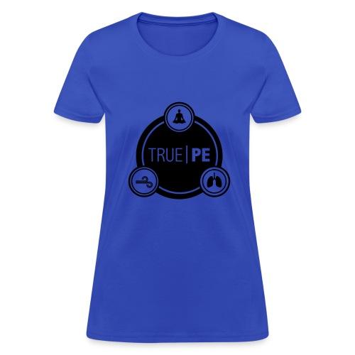 true PE logo - Women's T-Shirt