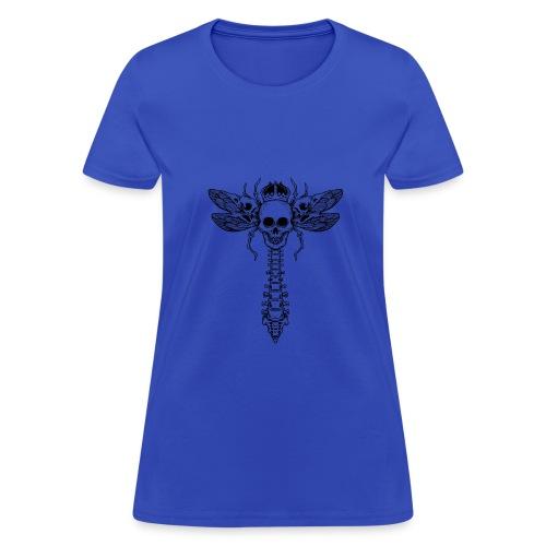 dragonfly skull - Women's T-Shirt