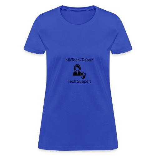 MizTech/Repair Tech Support Logo - Women's T-Shirt
