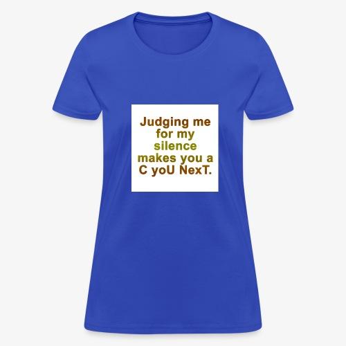 judgecunext - Women's T-Shirt