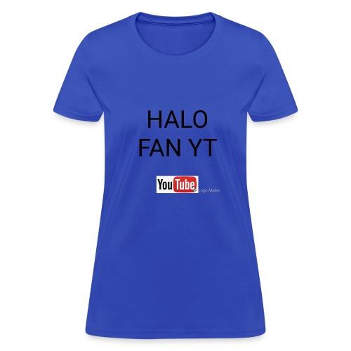 Halo fan and fnaf YouTube channel merch - Women's T-Shirt