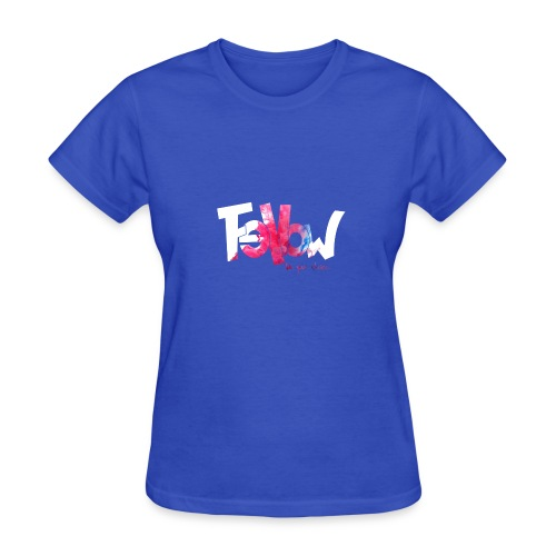 Design 06 Sur du noir - Women's T-Shirt