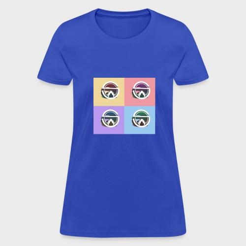 Slow Burn Faces - Women's T-Shirt