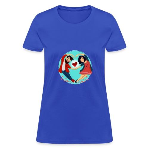 love 2 - Women's T-Shirt