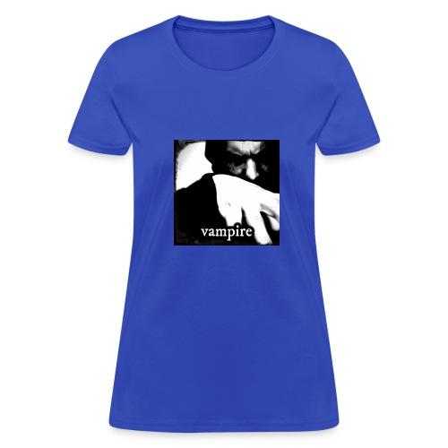 Vampire Black And White - Women's T-Shirt