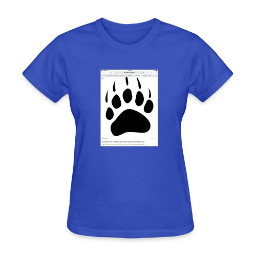 Bear print - Women's T-Shirt