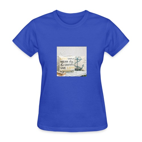 live laugh and love bag - Women's T-Shirt