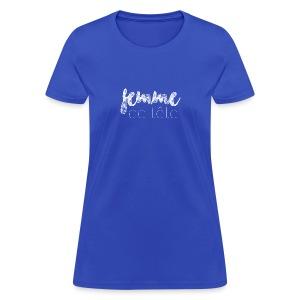 Femme de tête (blanc) - T-shirt pour femmes