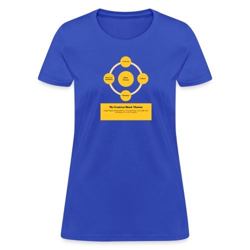 The Creatress Black Woman 1.0 - Women's T-Shirt