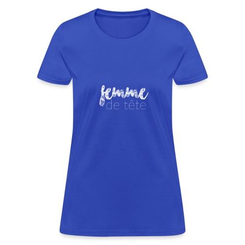 Femme de tête (blanc) - Women's T-Shirt