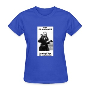 WCTU Saloon Smashing Prohibitionist Carrie Nation - Women's T-Shirt