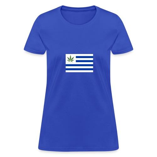 uruguay legalizacion marihuana - Women's T-Shirt
