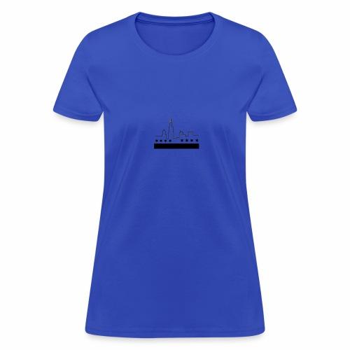 CHICAGO FLAG & SKYLINE - Women's T-Shirt