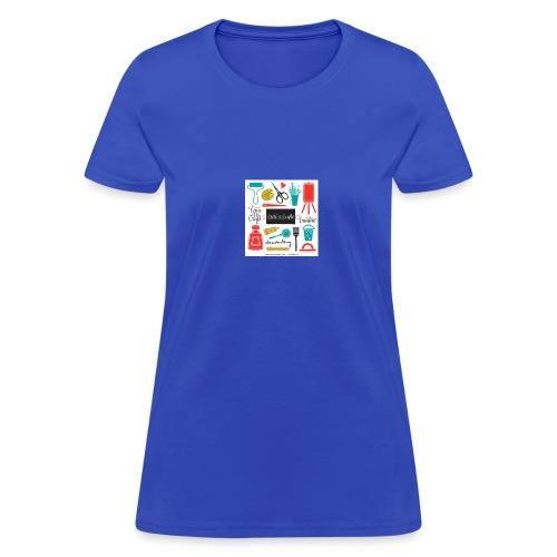 pink noodle - Women's T-Shirt