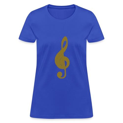music symbol - Women's T-Shirt