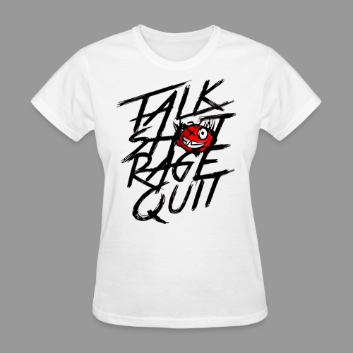 talkshitshirttest png - Women's T-Shirt