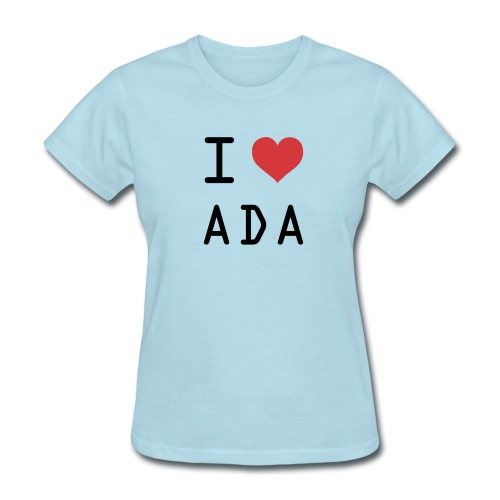 I HEART ADA (Cardano) - Women's T-Shirt