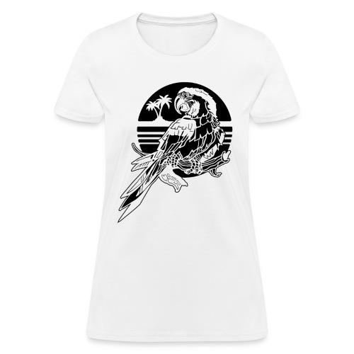 Tropical Parrot - Women's T-Shirt