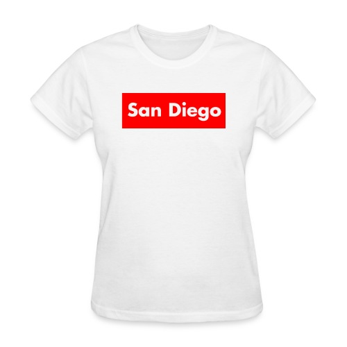 Supreme San Diego v5 - Women's T-Shirt