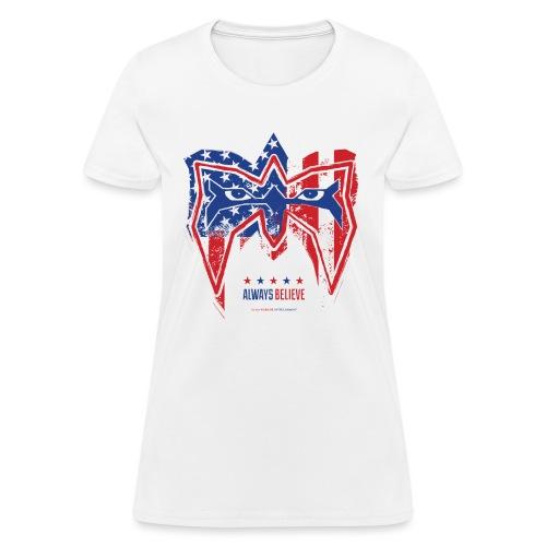 Warrior USA - Women's T-Shirt
