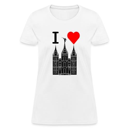 I (Heart) the Temple - Women's T-Shirt