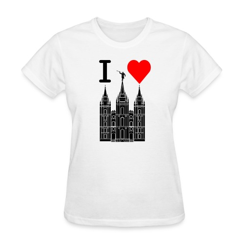 I (Heart) the Temple - Women's T-Shirt