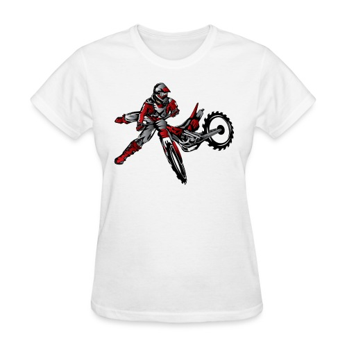 Freestyle Dirt Biker - Women's T-Shirt