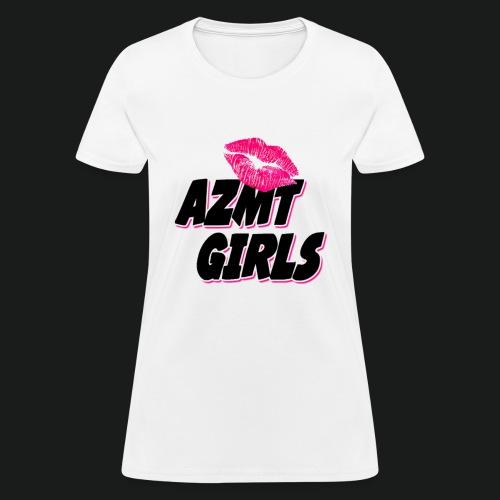 azmt girls logo #2 - Women's T-Shirt