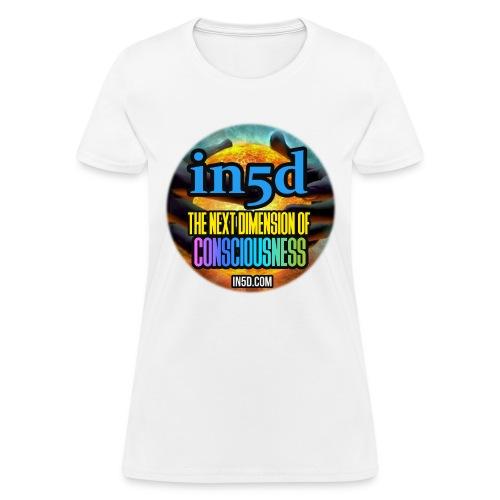 In5D Main Logo - Women's T-Shirt