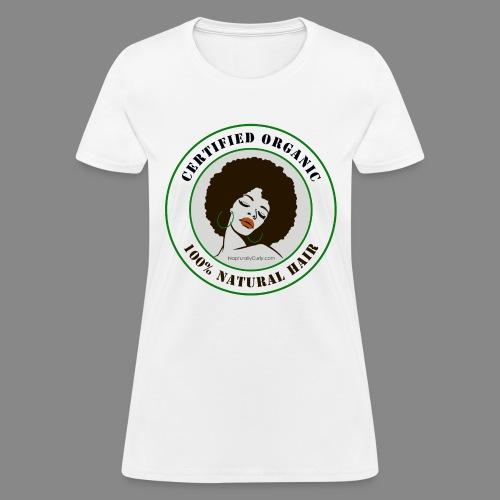 Organic Natural Hair - Women's T-Shirt