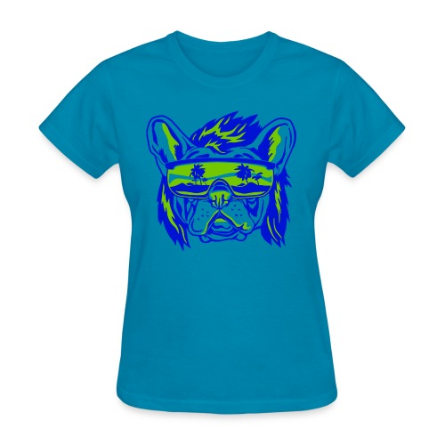 Beach Pooch - Women's T-Shirt
