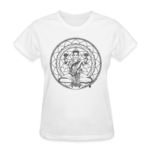 Lakshmi 700 mug art - Women's T-Shirt