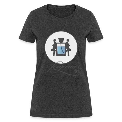 logo grey bg large png - Women's T-Shirt