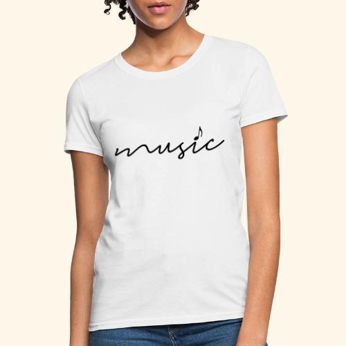music tee - Women's T-Shirt