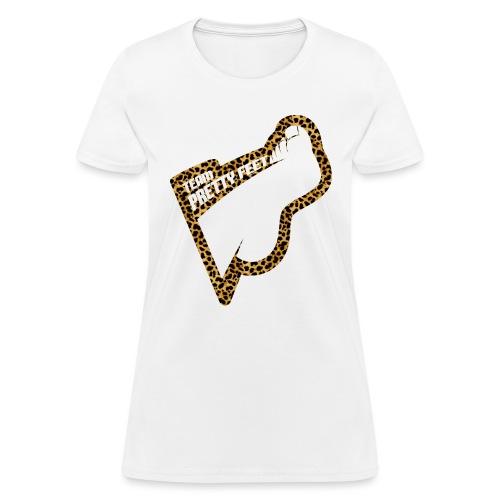 Team Pretty Feet™ Cheetah - Women's T-Shirt