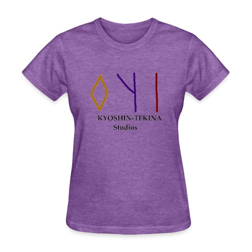 Kyoshin-Tekina Studios logo (black test) - Women's T-Shirt