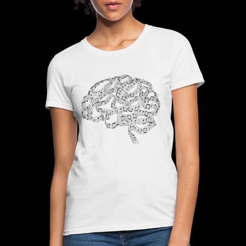 Sound of Mind | Audiophile's Brain - Women's T-Shirt