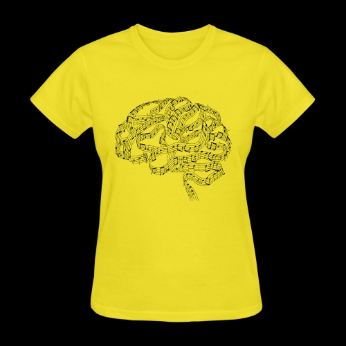 Sound of Mind   Audiophile's Brain - Women's T-Shirt