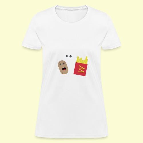 Worried potato - Women's T-Shirt