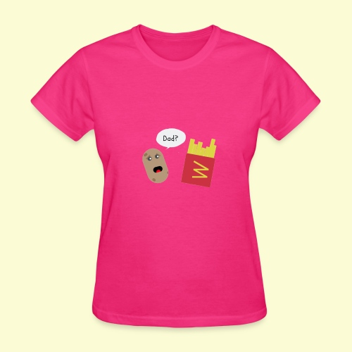 Worried potato - Women's T-Shirt