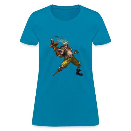 junkrat overwatch drawn by arnold tsang 2baffe0 - Women's T-Shirt