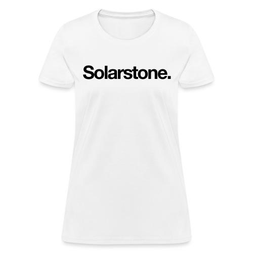 Solarstone Logo Black - Women's T-Shirt