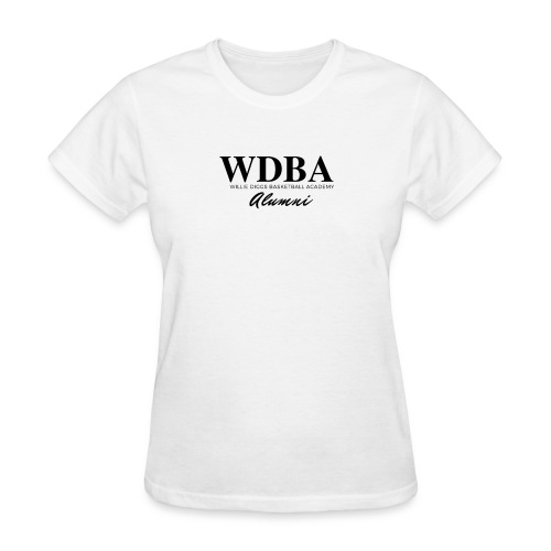 wdba alumni png - Women's T-Shirt