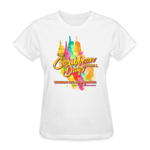 Caribbean Days Festival = Hot! Hot! Hot! - Women's T-Shirt