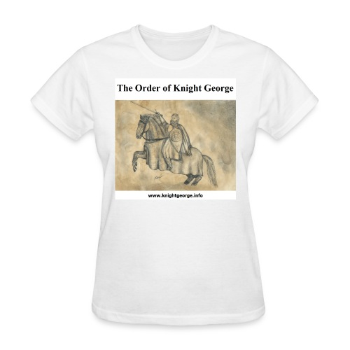 The Order of Knight George Art - Women's T-Shirt