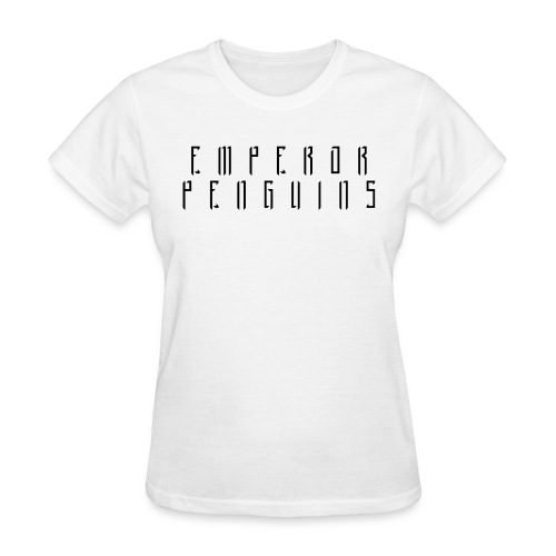 EMPEROR PENGUINS Black Logo - Women's T-Shirt