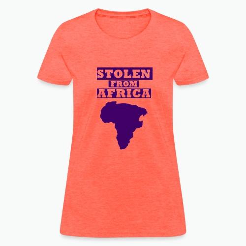 SFA LOGO DARK PURPLE - Women's T-Shirt